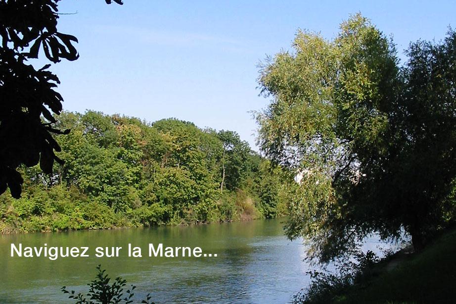 Base nautique de Meaux, sur la Marne